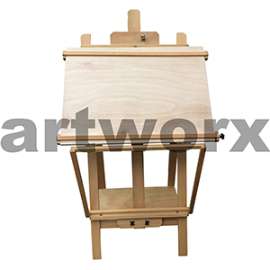 Art Spectrum Studio Multi Function Easel Oiled Beech 66x65x159cm
