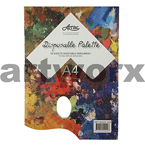 A4 50 sheet Arttec Tear Off Disposable Paper Palette