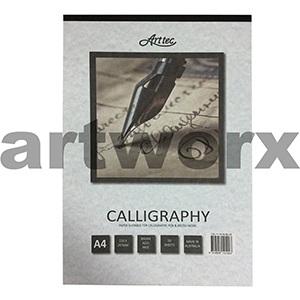 A4 90gsm Blue Arttec Calligraphy Pad