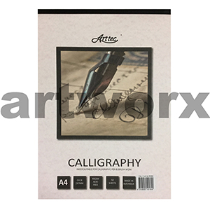 A4 90gsm Rose Arttec Calligraphy Pad