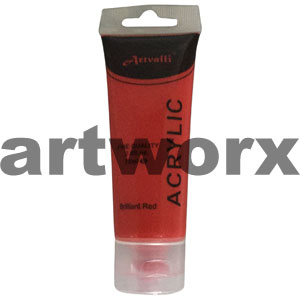 Brilliant Red Acrylic Paint 75ml