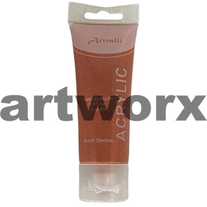 Burnt Sienna Acrylic Paint 75ml
