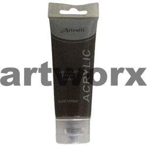 Burnt Umber Acrylic Paint 75ml