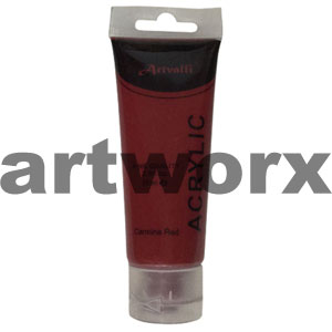 Carmine Red Acrylic Paint 75ml