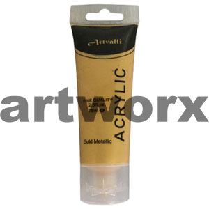 Metallic Gold Acrylic Paint 75ml