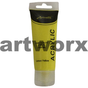 Lemon Yellow  Acrylic Paint 75ml