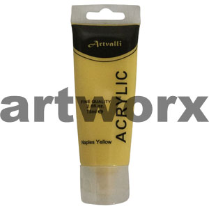 Naples Yellow Acrylic Paint 75ml