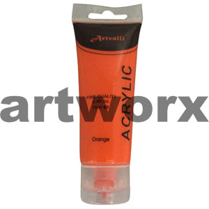 Orange Acrylic Paint 75ml