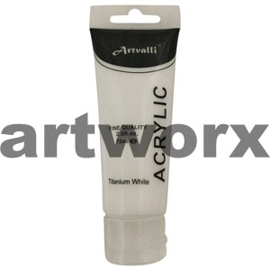 Titanium White Acrylic Paint 75ml
