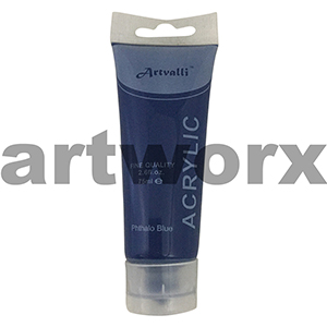 Phthalo Blue Acrylic Paint 75ml