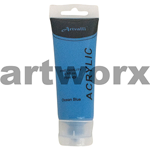 Ocean Blue Acrylic Paint 75ml