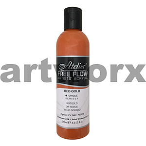 Red Gold (Opaque) s3 Atelier Free Flow 250ml
