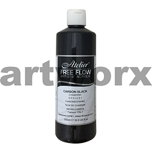 Carbon Black s1 Atelier Free Flow 500ml