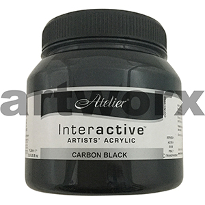 Carbon Black Atelier Interactive 1 litre