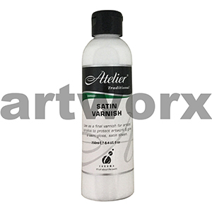 Satin Varnish 250ml Atelier Medium