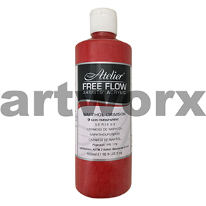 Napthol Crimson s3 Atelier Free Flow 500ml