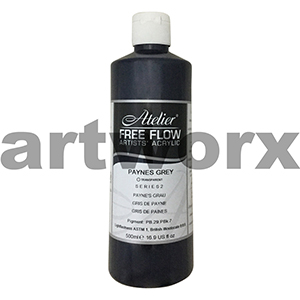 Paynes Grey s2 Atelier Free Flow 500ml