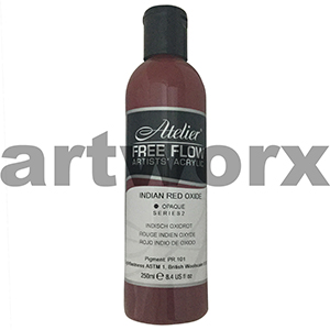 Indian Red Oxide s2 Atelier Free Flow 250ml