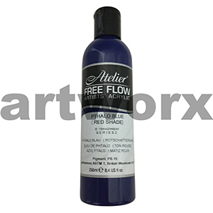 Pthalo Blue (Red Shade) s2 Atelier Free Flow 250ml