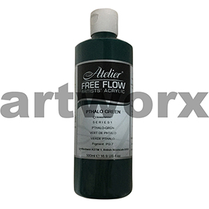 Pthalo Green s1 Atelier Free Flow 500ml