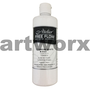 Titanium White s1 Atelier Free Flow 500ml