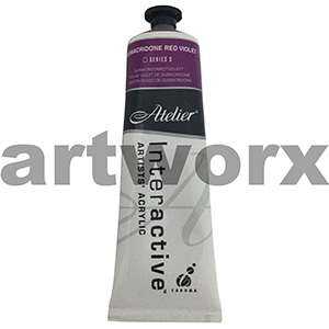 Quinacridone Red Violet s3 Atelier Interactive 80ml Tube