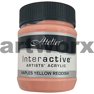 Naples Yellow Reddish s2 Atelier Interactive 250ml