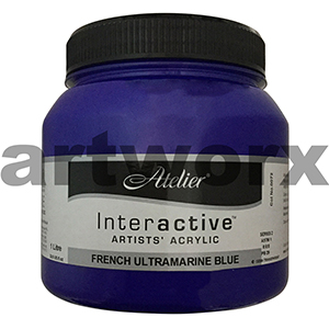 French Ultramarine Blue Atelier Interactive 1 litre