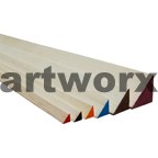 915x6.5x6.5mm Red Triangular Balsa Wood Sticks