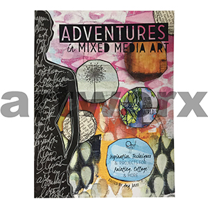 Adventures in Mixed Media Art Book by Amy Jones