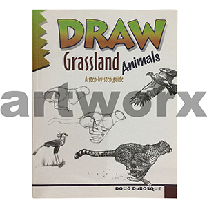 Draw Grassland Animals Book by Doug DuBosque