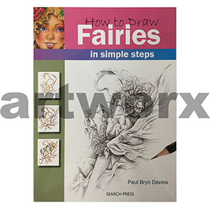 How to Draw Fairies Book by Paul Bryn Davies