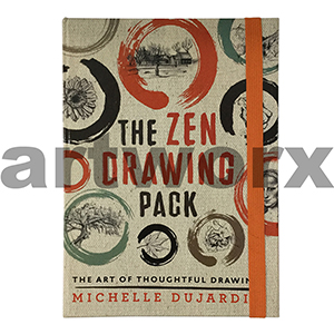 Book The Zen Drawing Pack Michelle Dujardi