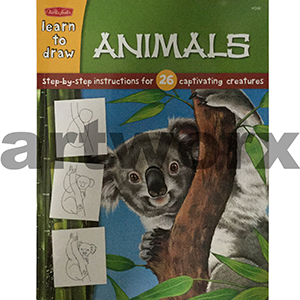 Learn to Draw Animals Walter Foster Books