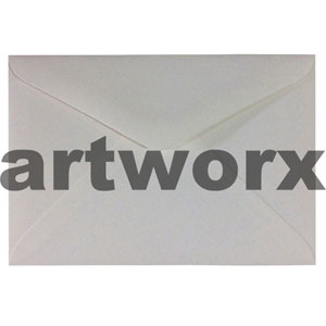 Cotton White C6 110gsm Envelope