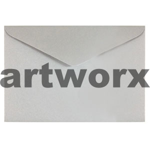 C6 Metallic Silver Envelope