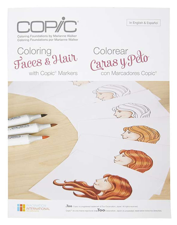 Colouring Faces & Hair Copic Colouring Foundations Book