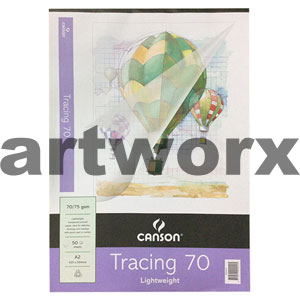 70gsm A2 50 Sheet Canson Tracing Paper Pad
