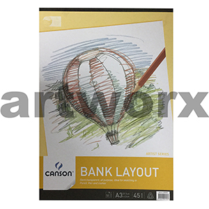 45gsm A3 50 Sheets Canson Bank Layout Pad