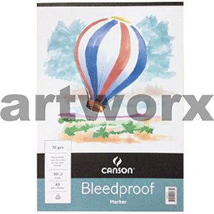 A3 Canson Bleedproof 70gsm 50 sheets