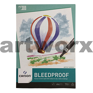 Canson Bleedproof Pad 70gsm 50 sheets A4