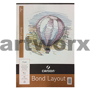70gsm A2 50 Sheet Canson Bond Layout Pad