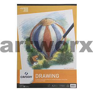 110gsm A2 50 Sheet Canson Drawing Pad
