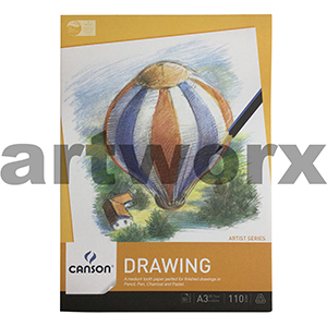 110gsm A3 50 Sheet Canson Drawing Pad