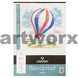 A2 Canson Bleedproof 70gsm 50 sheets
