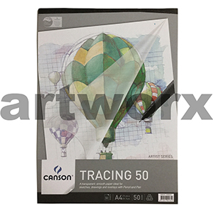 Canson Tracing Paper Pad 50gsm 50 sheets A4