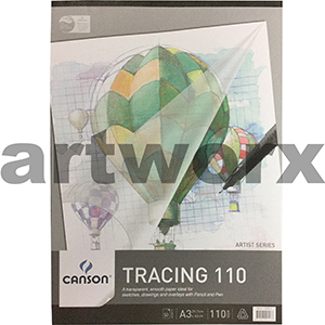 110gsm A3 50 Sheet Canson Tracing Paper Pad