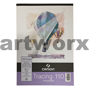 110gsm A4 50 Sheet Canson Tracing Paper Pad