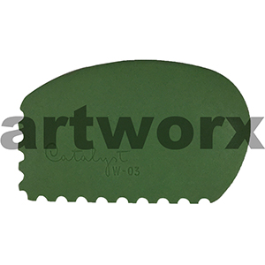 Catalyst Colour Shaper W-03 Green Wedge Brush