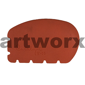 Catalyst Colour Shaper Orange W-05 Wedge Brush
